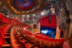 Chicago Theater Balcony View