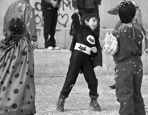 child dress batman festa carnevale costumi coriandoli bambino givoletto