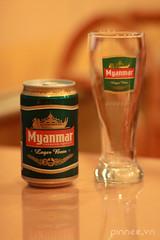Myanmar Beer at Ko's Kitchen (pinnee.) Tags: beer burma myanmar mandalay thaifood mdl burmesefood myanmarfood myanmarbeer koskitchen koskitchenrestaurant