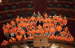 Shiloh Christian School 5th Graders Visit the Capitol