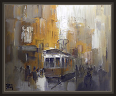 ESTAMBUL-ISTANBUL-TRAM-TURQUIA-ART-ARTE-PINTURA-TRANVIA-PAINTINGS-TRAM-ERNEST DESCALS (Ernest Descals) Tags: pictures life city people urban paisajes art turkey painting landscape movement paint cityscape arte gente paintings cities tram ciudad istanbul movimiento personas ciudades vida painter persons istambul turquia pintor calles pintura pintores pintar cuadros pinturas estambul paisajeurbano oleos pintando tramvia tranvias flickrgalleries ernestdescals