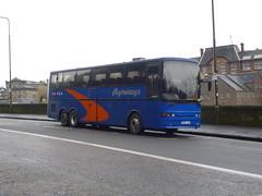 Ayrways Volvo B12T Jonckheere K300 AYR (miledorcha) Tags: bus scotland volvo coach edinburgh ayr coaches jonckheere psv pcv deauville patna bebb llantwitfardre ayrways b12t k300ayr p27ttx