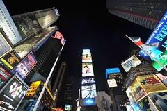 Concrete Forrest (Time Square, New York City) (cowboy6688) Tags: newyorkcity skyline architecture broadway timesquare nightview madisonsquaregarden nikond700 newyorkskyscraper nikon1424mm blinkagain bestofblinkwinners
