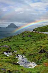 Velbastaur, Faroe Islands, Denmark (**Anik Messier**) Tags: landscape denmark islands rainbow karma magiceye faroeislands panoramicview faroes hestur kingdomofdenmark koltur elevatedview abigfave anawesomeshot hestsfjrur streymoyisland velbastaur anikmessiercopyright velbastaour hestsfjorour