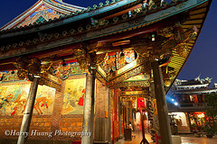 Harry_02725,,,,,,,,,,, (HarryTaiwan) Tags: temple taiwan taipei         baoantemple      dalongdong          5d2   harryhuang  hgf78354ms35hinetnet