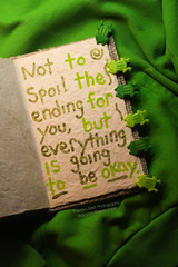 Volume Two (Theresa Best) Tags: inspiration green love japan painting photography book hoodie epcot goal paint quote journal dream disney best frog clip clothes theresa disneyworld vs 365 wdw inspire victoriasecret 366 365project theresabest
