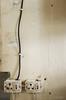 Outlet and Wire (Lauren Barkume) Tags: 2012 africa antique artdeco eastrand factory gauteng industrial joburg johannesburg laurenbarkume light machines metal old outlet photowalk photowalkers southafrica switch wall wire johanesburg gettyimagesmeandafrica1