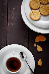 Tea Time :) (FijazZ) Tags: food india photography flickr tea kerala biscuits 2012 doha qatar malabar 2022 foodphotography britania 50mm14d flickrawards fijazz nikond7000 fijhas