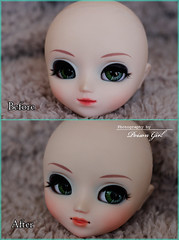 ~ Partial face-up Pullip Celsiy for Himitsu ~ (-Poison Girl-) Tags: girl doll dolls head makeup cupcake groove pullip poison custom pullips poisongirl customs makeups himitsu faceup junplanning pullipcustom faceups celsiy pullipcelsiy