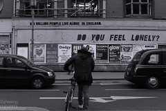 6.8 million people live alone.... (SophieWong) Tags: street city liverpool you feel lonely citycenter scouse capitalofculture2008 aapeorg artgraffitilonelydo