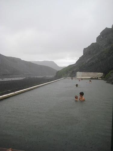 Lloviendo en Seljavellir