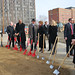USquare @ The Loop Groundbreaking January 2012