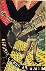 The Man with the Movie Camera by the Stenbergs, 1929 (kitchener.lord) Tags: cinema art poster soviet 1929
