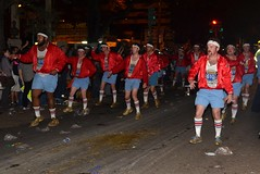 The 610 Stompers in the Krewe of Muses 2012 Parade