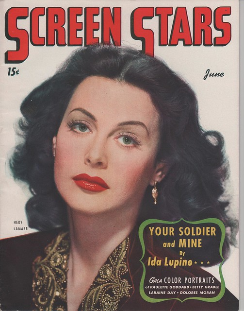 HEDY LAMARR on the June 1944 Screen Stars