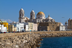 Catedral de Santa Cruz de Cádiz (kwsdurango) Tags: travel sea church spain europe cathedral cadiz worldwidewandering tumblr pinterest