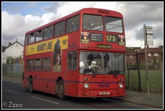 Saturday Standard (Zippy's Revenge) Tags: bus manchester transport bn standard tomatosoup leyland horwich greatermanchester firstbus atlantean firstgroup 4611 8611 firstmanchester gmbuses northerncounties ncme boltondepot an68 oldlordsestate ana611y