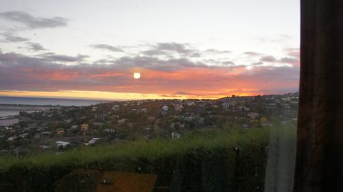 Sunrise in Christchurch