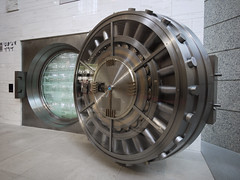 bank vault III (-sou-) Tags: door japan sapporo bars lock chest bank vault bankvault lockup banksafe