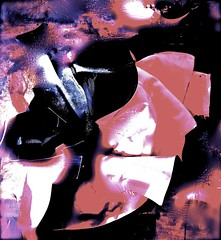 untitled, lge. format, feb.2012 (THE ART OF STEFAN KRIKL) Tags: abstract illustration modernart bullfight tauromaquia capotes expressionistabstractart