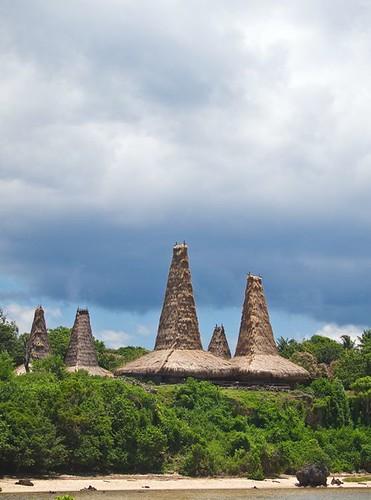 Rantenggaro village, West Sumba