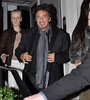 Al Pacino with lipstick-smudged lips, Girlfriend Lucila Sola The Afterparty for the Irish Premiere of 'Wilde Salome' - Departures Dublin, Ireland