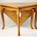 255. French Pine Handkerchief Table