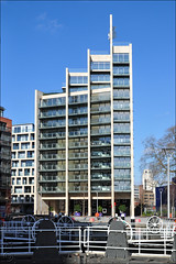 Caro Point / Grosvenor Waterside (George Rex) Tags: uk greatbritain england london westminster architecture apartments unitedkingdom britain flats gb residential pimlico anthonycaro cityofwestminster sheppardrobson grosvenorwaterside grxa23 grosvenorcanal photographygeorgerex georgerexphotography caropoint