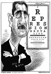 Assad Specialties: Repression, Brutality, Hezb...