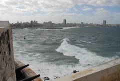 Havana's bay (Miffa Chan) Tags: travel havana cuba malecn 2011 miffa