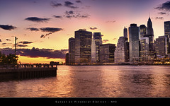 Financial Sunset (BgSpiX) Tags: nyc newyorkcity sunset ny newyork skyline brooklyn buildings us interesting cityscape manhattan newyorkskyline newyorksunset manhattansunset benjamings financialdistrick bgsphotography bgspix