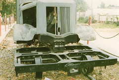 Thailand - Burma Railway - Rail/road truck (railasia) Tags: show detail thailand nineties kanchanaburi jir burmarailway metergauge roadrailvehicle