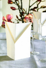 Origami création - Didier Boursin - Menu