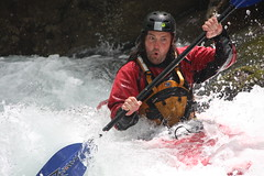 Oh yeah its rowdy upper Saru gawa Kayaking extreme Japan