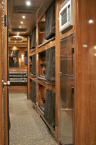 Triumph - Bunk Hallway - facing rear