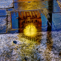 6pm London (violinconcertono3) Tags: reflection london wet water westminster puddle landscapes unitedkingdom fineart cityscapes bigben fineartphotography davidhenderson london2012 fineartphotographer londonphotographer 19sixty3 19sixty3com