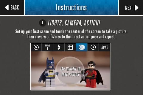 LEGO DC 超級英雄停格電影APP上架!