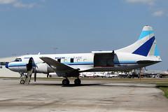 Cv440.N41527-3 (Airliners) Tags: miami cargo 440 freighter opf convair cv440 22212 convair440 miamiairlease n41527