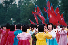 National Day Mass Dance (momo) Tags: northkorea nationalday pyongyang dprk massdance