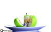 Apple (Ebrahim Alkredes- إبراهيم الكريديس) Tags: new baby tree green apple glass by studio photography nice kingdom s saudi arabia apples ksa ebrahim تفاح السعودية أخضر إبراهيم الكريديس alkredes