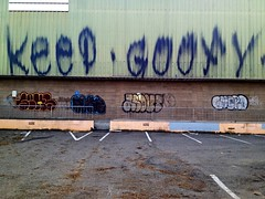 Keep Goofy (the graveyard shift) Tags: ca art goofy graffiti oakland und keep about guero seks soke bth