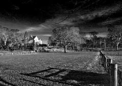 The big white house St Vigeans (Monodoug) Tags: bw scotland angus stvigeans