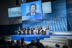 Panellist Zhenglin Feng speaks at the Annual Summit
