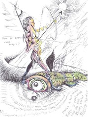 Arrow-LadenDianaFair-HairedHuntress_small (LouisBraquet) Tags: original art pen ink sketch drawing originalart surrealism dream surreal fantasy surrealist dreamlike mythology unconscious penandink jungian freudian hallucinogenic psychoanalysis fantasticrealism subconscious psychoanalytical mythologicalart modernsurrealism modernsurrealist unconsciousimagery