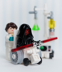 The 4th, with you may it be. (Balakov) Tags: star lego wheelchair may 4th darth nurse wars veteran maul