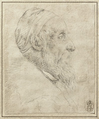 Titian: Self-portrait (drawing) (petrus.agricola) Tags: selfpo