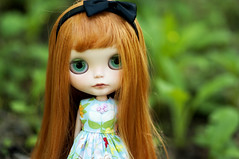 """you likes my tilty head?"" (libbalu) Tags: doll plastic blythe custom takara dlg rbl brierrose chaoskatencosmos"