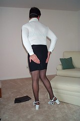 Sissy16 (Sissy Grrl 2) Tags: cd crossdressing sissy amateur crossdresser grrl submissive cuckold