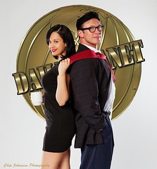 Lois and Clark (VictoriaCosplay) Tags: superman kelley danny dccomics clarkkent loislane manofsteel dailyplanet new52 victoriacosplay wwwvictoriacosplaycom