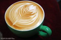 拉花 (nodie26) Tags: art cup water coffee hearts leaf cafe heart tea drink espresso latte 咖啡 心 下午茶 拿鐵 葉子 愛心 拉花 義式咖啡